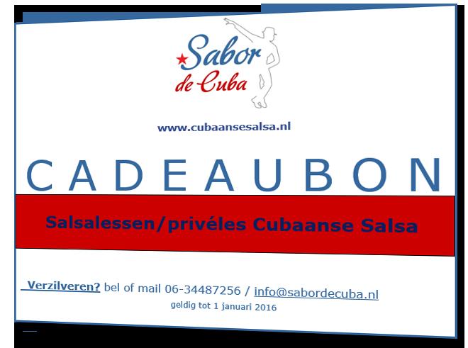Cadeaubon Sabor de Cuba